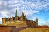 Kronborg Castle Made Famous By William Shakespeare In His Play About Hamlet Situated In The Danish H poster