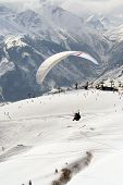 Parasailing In Alps
