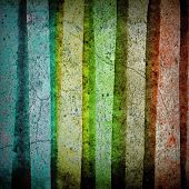 Multicolored Stripped Pattern