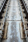 Perspective , Sleepers And Rails Railroad