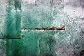 Green Metal Wall