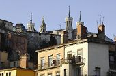 France; Lyon; Lyons; Old City View; The Vieux Lyon