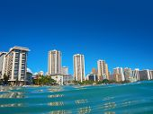 Hotels On The Shore Of Waikiki, Oahu