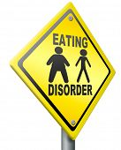 eating disorder anorexia obesity  unhealthy lifestyle obese or very thin people a psychological sick