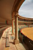anaglyph stereo photo of Bullfighting arena in Ronda, Spain (need red-cyan glasses)