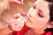 Make-up en schoonheidsbehandeling
