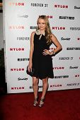 LOS ANGELES - OCT 15:  Greer Grammer arrives at  Nylon's October IT Issue party at London West Holly