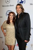 LOS ANGELES - OCT 20:  Chaz Dean, sister Joanne arrives at  the 26th Carousel Of Hope Ball at Beverl