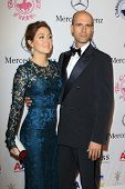 LOS ANGELES - OCT 20:  Sasha Alexander, Edoardo Ponti arrives at  the 26th Carousel Of Hope Ball at