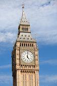Clock Big Ben (elizabeth Tower) At 5 O'clock In London
