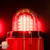 sinal led lâmpada
