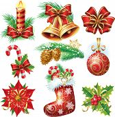 picture of mistletoe  - Christmas objects - JPG