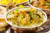 indian prawn curry
