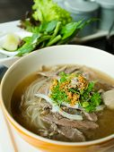 Front Of Pho Lao Style Noodle Soup
