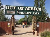 An Entrance To Out Of Africa Wildlife Park
