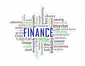 for background - finance and accounting words