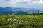 foto of brighten  - Colors brighten Alaska - JPG