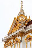 Bangkok, Thailand - July 9: Thai Crematory In Bangkok, Thailand On .july 9, 2013. After A Funeral Of