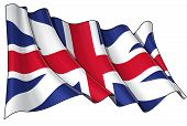 Union Jack 1606�1801 (the King's Colours)