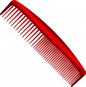 Men Red Comb