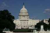 WASHINGTON, DC - JULY 29: The U.S. Capitol is shown on July 29, 2013 in Washington, D.C.  The U.S. C