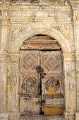 Door in Rethymno on Crete