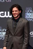 LOS ANGELES - AUG 1:  Kit Harington arrives at the 2013 Young Hollywood Awards at the Broad Stage on