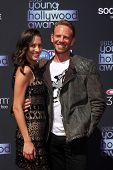 LOS ANGELES - AUG 1:  Erin Kristine Ludwig, Ian Ziering arrives at the 2013 Young Hollywood Awards a