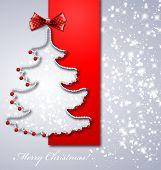 Decoratie van Kerstmis papier boom