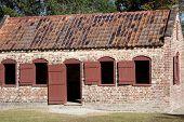 Brick slave quarters