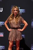 LOS ANGELES - AUG 1:  Tara Lipinski arrives at the 2013 Young Hollywood Awards at the Broad Stage on
