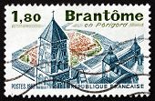 Postage Stamp France 1983 Benedictine Monastery Of Brantome