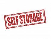 Self Storage-stamp