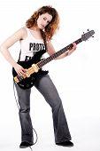 Sexy Guitar Player