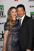 Ethan Hawke and Julie Delpy at the 17th Annual Hollywood Film Awards Arrivals, Beverly Hilton Hotel,
