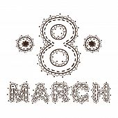 The eight 8 of march date.