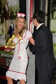 Jessica Kinni and Johnny Knoxville at the
