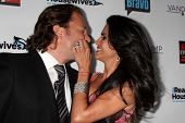 Joyce Giraud de Ohoven and Michael Ohoven at the Real Housewives of Beverly Hills Season 4 Party and