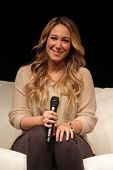 Haylie Duff appearing at the Los Angeles Ultimate Women's Expo, Los Angeles Convention Center, Los A