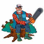 Lumberjack Worker