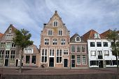 Vintage dutch buildings.