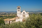 Basilica of St. Francesco d'Assisi. Umbria. Italy.