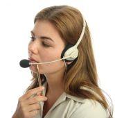 Pensive Call Centre Agent