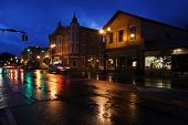 "WESTERVILLE, OHIO - OCTOBER 3, 2013:  Westerville, Ohio is one of America's ""best small towns"".  Wes"