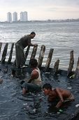 Angke Estuary Scene