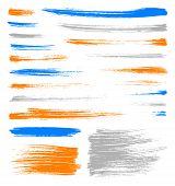 Color Brush Strokes