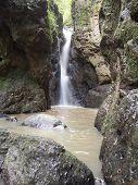 Pam Bok Waterfall At Pai , Thailand