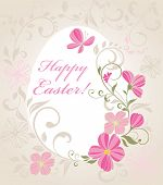 Easter beautiful card