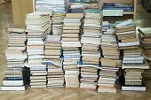 Tall Stacks Of Old Books