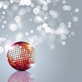 Disco Ball Party Background